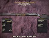 Bloodied Hardened Pump Action Shotgun - Level 45