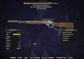 Bloodied Hardened Lever Action Rifle