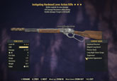 Instigating Hardened Lever Action Rifle