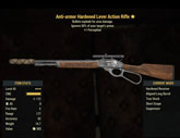 Anti-armor Hardened Lever Action Rifle - Level 45