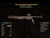 Anti-armor Hardened Piercing Pipe Rifle - Level 50