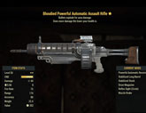Bloodied Powerful Automatic Assault Rifle - Level 50