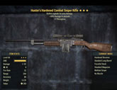 Hunter's Hardened Combat Sniper Rifle - Level 40