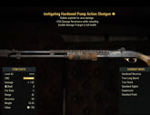 Instigating Hardened Pump Action Shotgun - Level 45