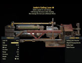 Junkie's Gatling Laser - Level 45