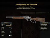 Vampire's Hardened Lever Action Rifle - Level 45