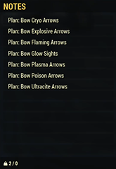 Bow Arrows Mods Plan Set