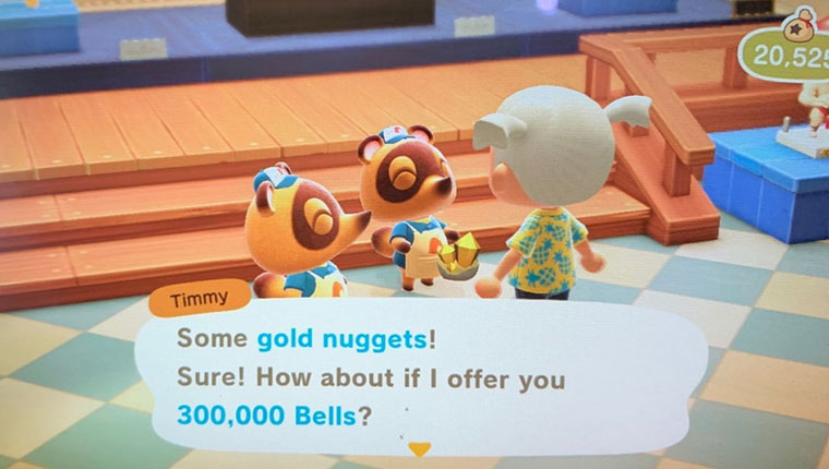 Sell Gold Nuggets 2