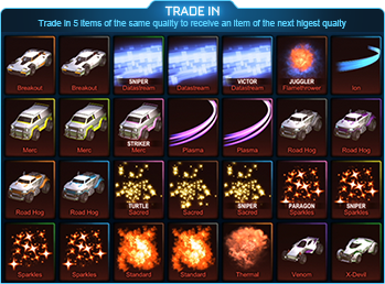 Drop Import Trade Up (1 Random Piece) x 10