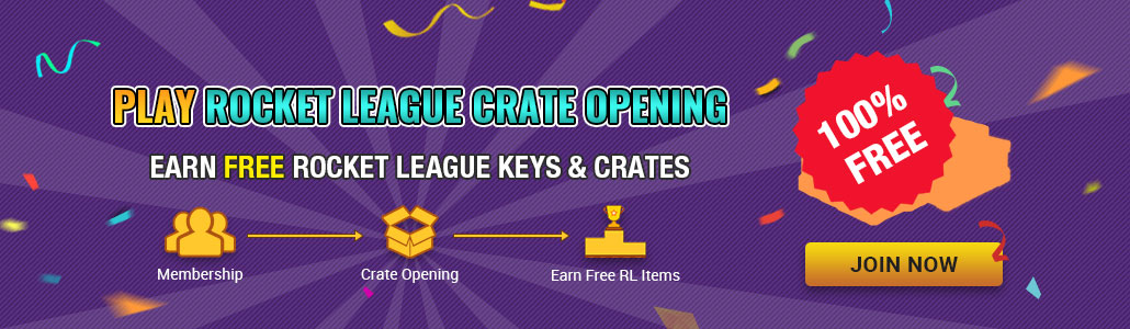 Free Play Rocket League Crates Opening & Win Free Keys!