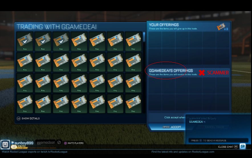 Safe Rocket League Trading On Aoeah Com - Check Timely