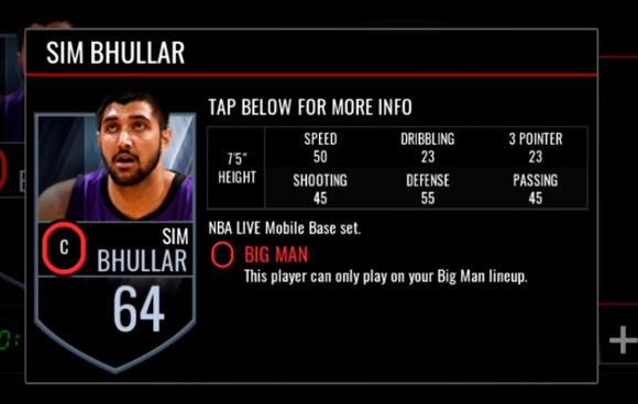 NBA LIVE MOBILE Interesting Data Part2-SIM BHULLAR