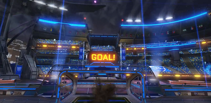 Rocket League 2nd Anniversary Update Contents New Free Arena Overdrive Crate New Battle Cars New Songs And Season 5