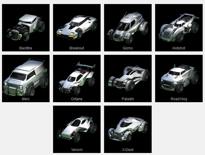 rocket league cars guide all rocket league cars stats best