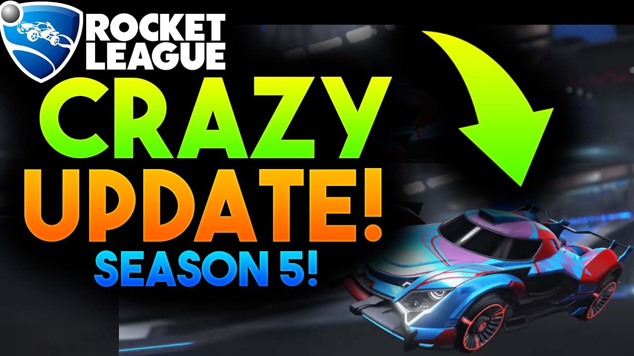 Rocket League Season 5 Competitive Changes
