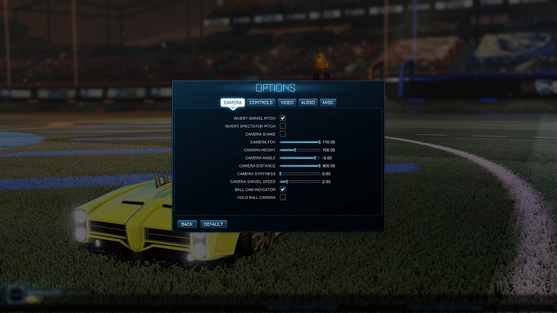 Squishy Muffinz Camera Settings Rocket League : News and Guides - AOEAH.COM