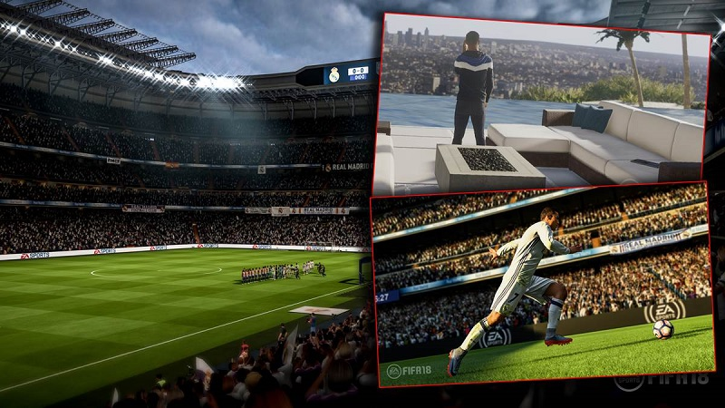 FIFA 18 Immersive Atmospheres - New Stadiums, Crowds & Pitch Side Elements