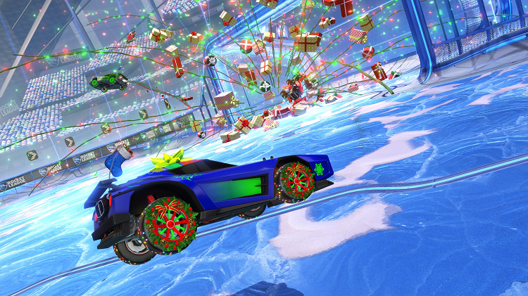 Frosty Fest Winter Event Starts In Rocket League To