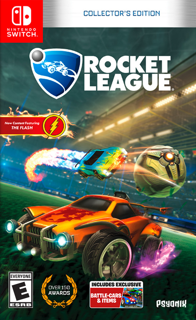 Rocket League Collector's Edition Release Date, Content and Prices On Nintendo Switch