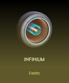Rocket League Victory Crate - Exotic Wheels - Infinium