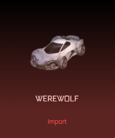 Rocket League Victory Crate - Werewolf (Body)