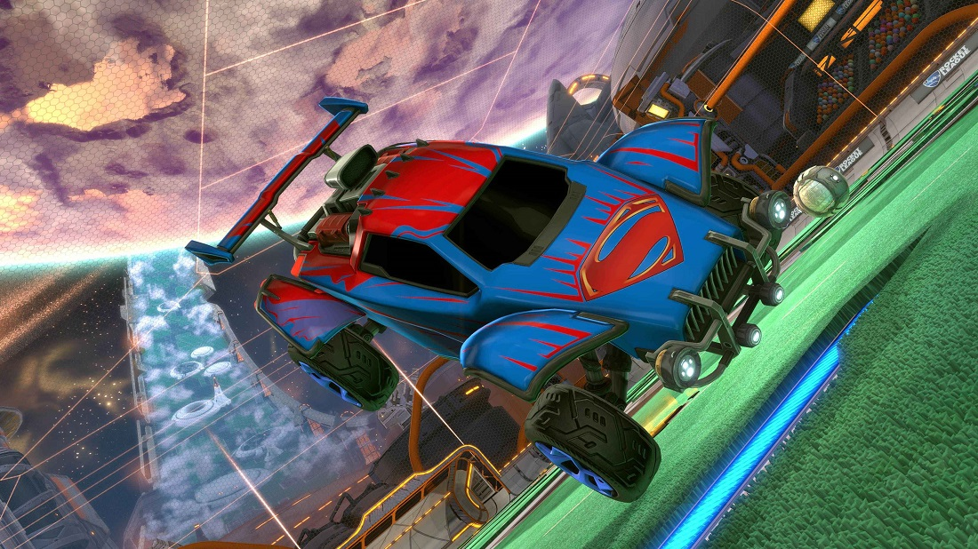 Rocket League DC Super Heroes DLC 5