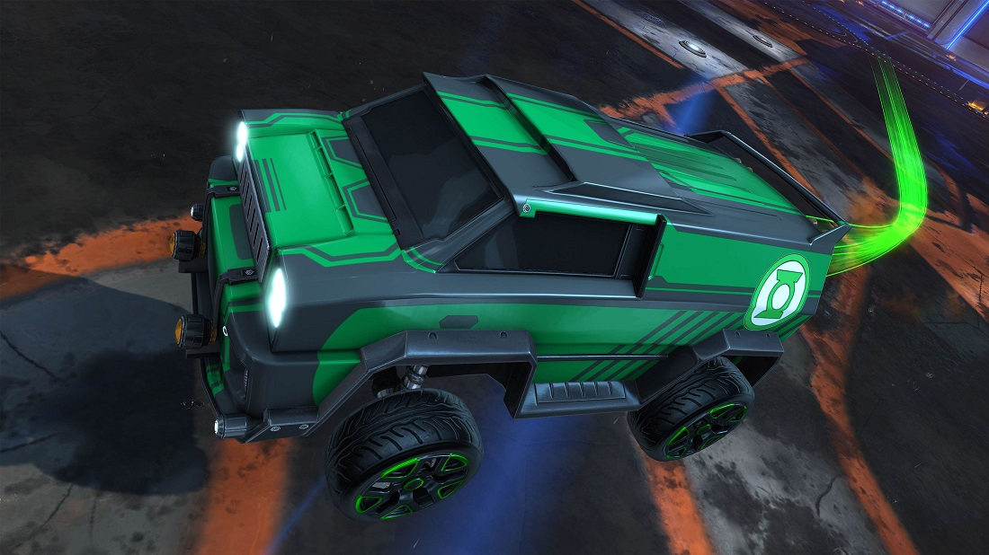 Rocket League DC Super Heroes DLC 4