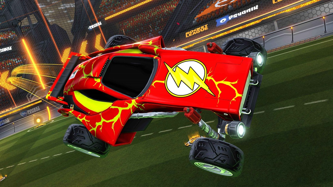 Rocket League DC Super Heroes DLC 8