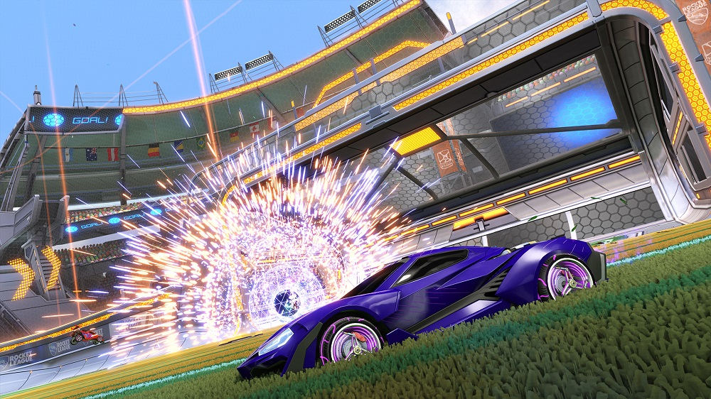 Rocket League Zephyr Update - Zephyr Crate - Goal Explosion