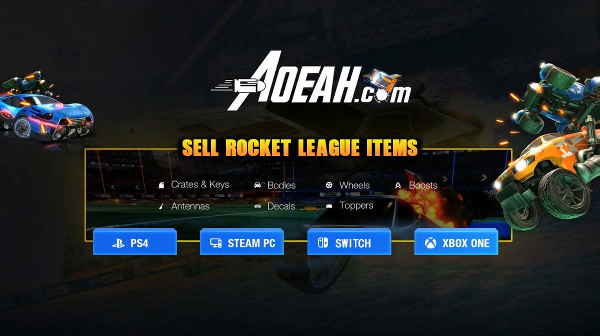 Sell Rocket League Items For Money Or Keys - AOEAH