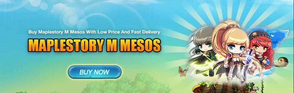How To Buy & Trade Maplestory M Mesos At Aoeah Com