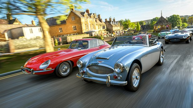 Forza Horizon 4 - Service Check Update adds new events and cosmetic items