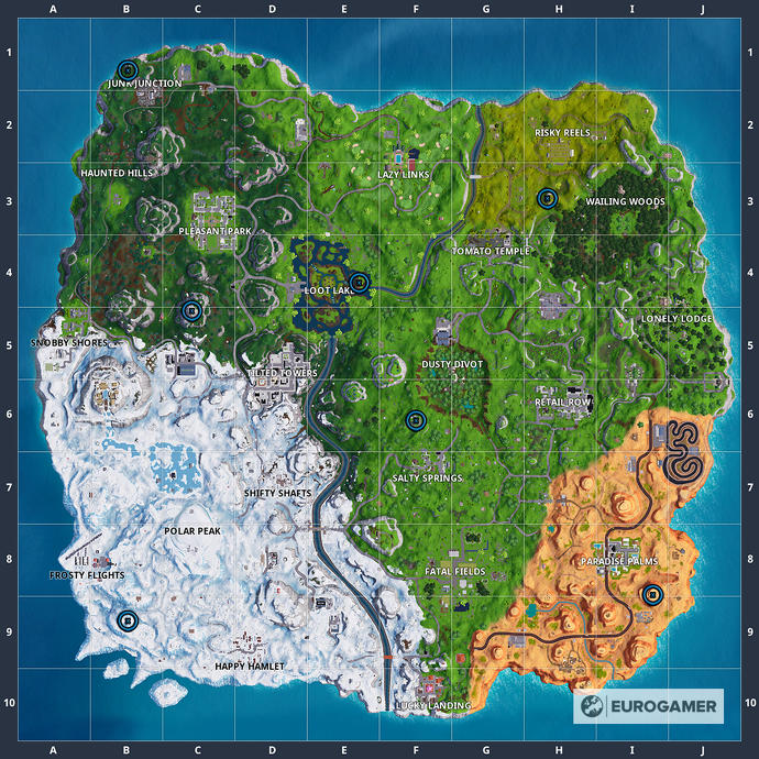 Fortnite Locations 2