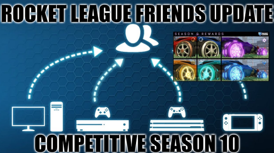 Rocket League Friends Update