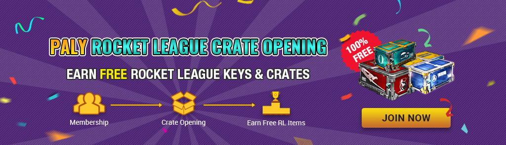 Win Free Rocket League Keys - AOEAH Rocket League Crate Simulator